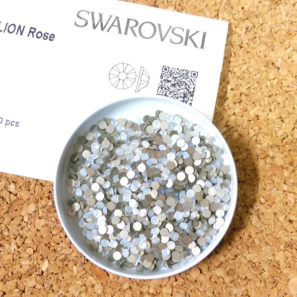 swarovski crystals flat back rhinestone elements ss12 white