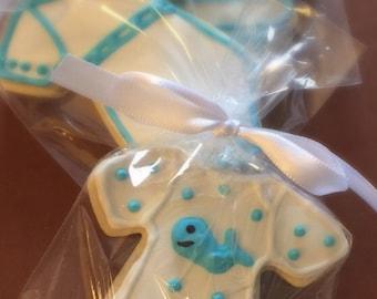 Baby Onesies Sugar Cookies