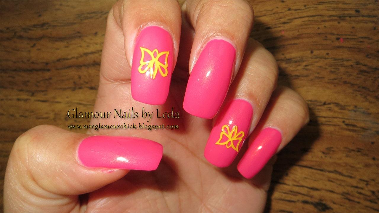 Awareness Ribbon Nail Art Nails Awareness Ribbon