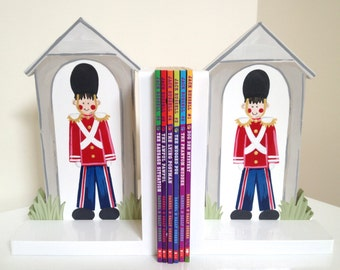 Soldier Bookends - Bookends,  Childrens Bookends, Boys Bookends