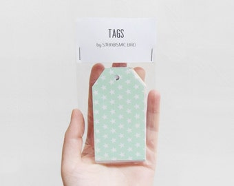 Tags for snail mail