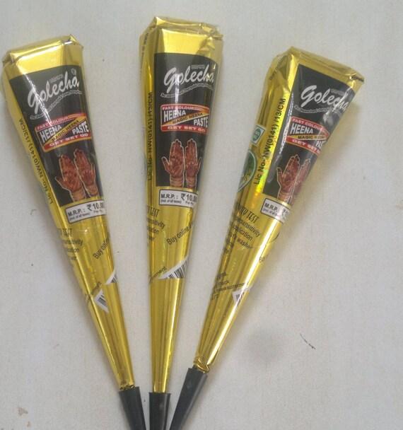 3pc 39 s dark black henna kit make own tattoo fresh henna for Henna tattoo kits target