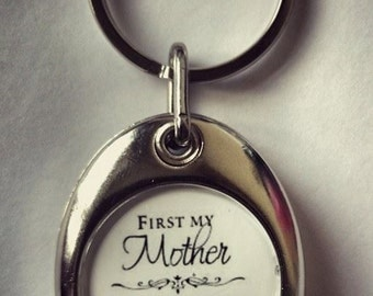 Personalised Trolley Coin Keyring