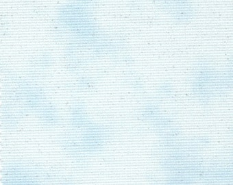 Fabric Flair 14 count Cloud Blue Aida with Sparkles - Ideal for Cross Stitch