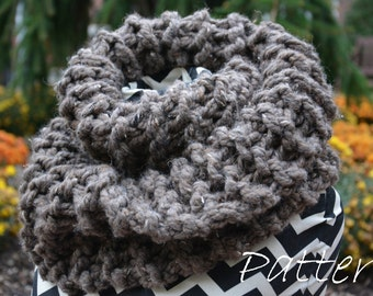 Outlander Cowl Knitting Pattern / Clair Knit Scarf Pattern