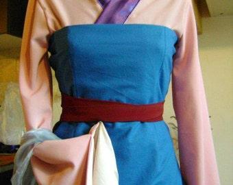 Mulan Disney princess costume cosplay