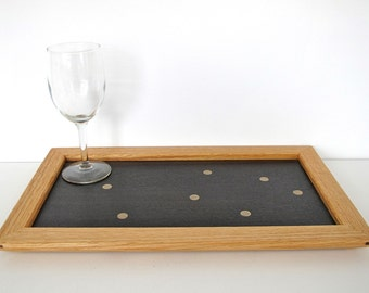 Little marquetry serving tray