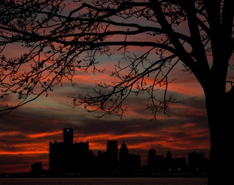 Detroit, Under a Fiery Sky