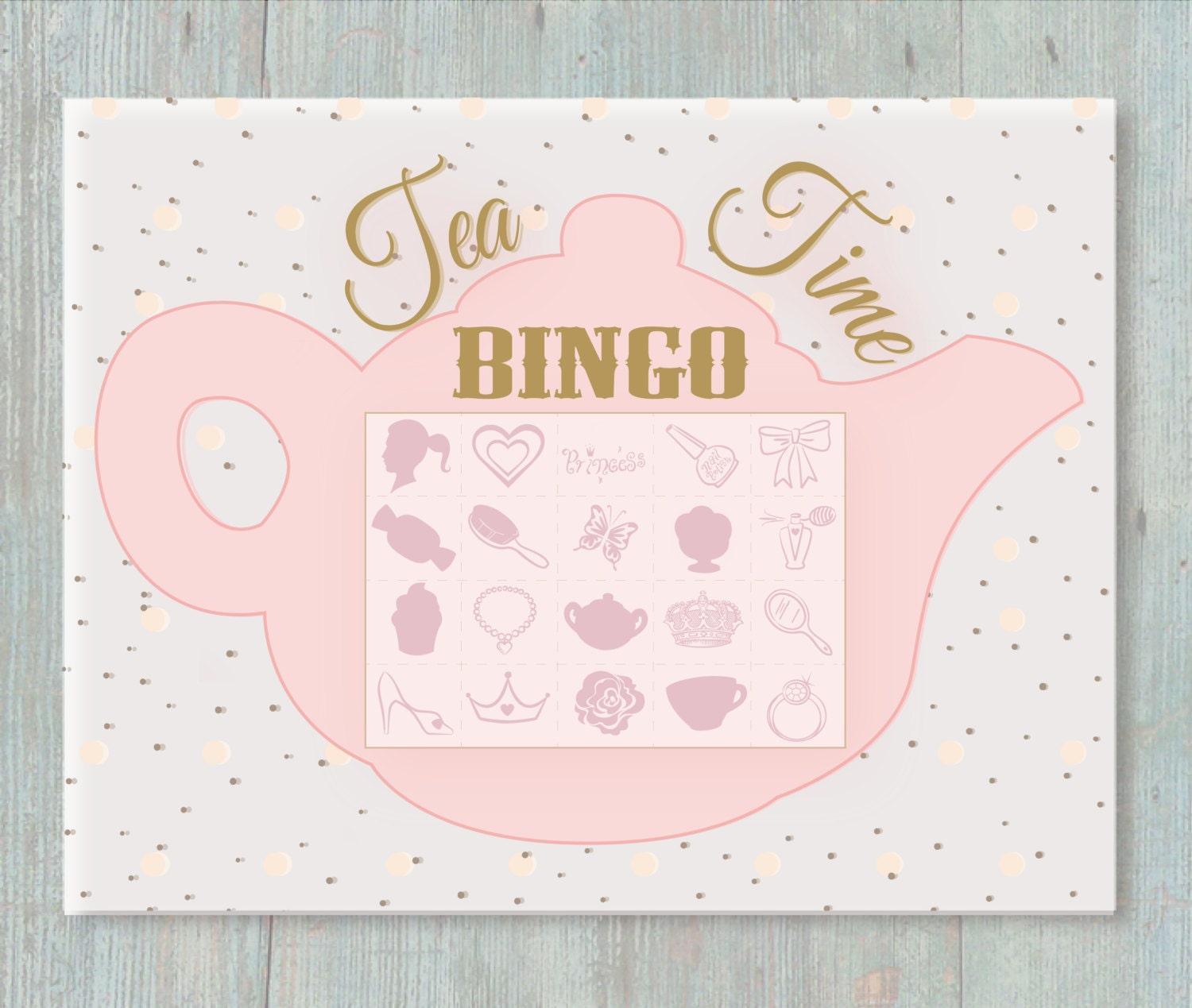 Witty image with regard to free printable tea party games