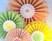 Rosettes for summer- party rosettes