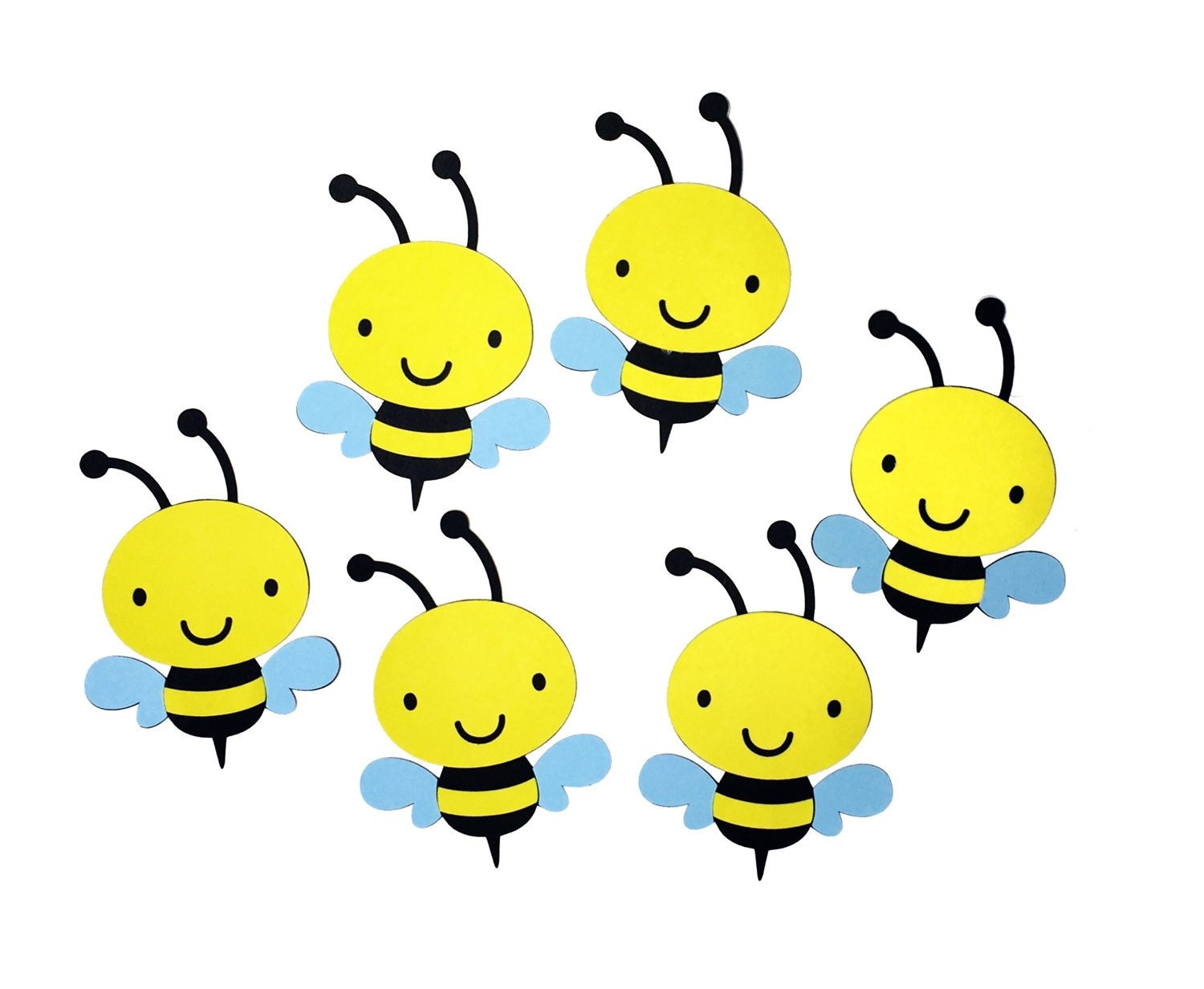Bumblebee Die Cuts 4 Bee Cut Outs on Cute Spring Bulletin Board Ideas