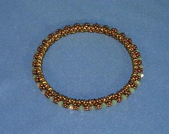 Hand Woven 6 - 7 inch Bangle Bracelet