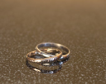 """The """"Old Orchard"""" double ring"""
