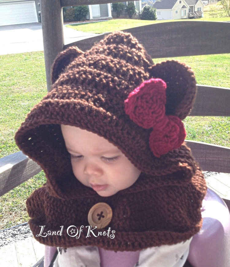 Free Crochet Pattern For Burton Bear Cowl Traitoro For