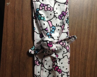 hello kitty headband tie