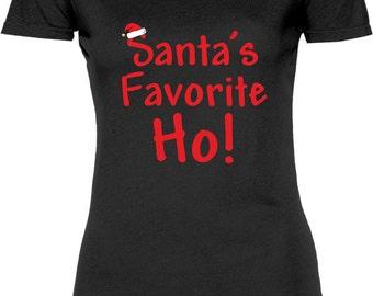 Santa T Shirt Offensive Christmas shirt funny Santa Claus
