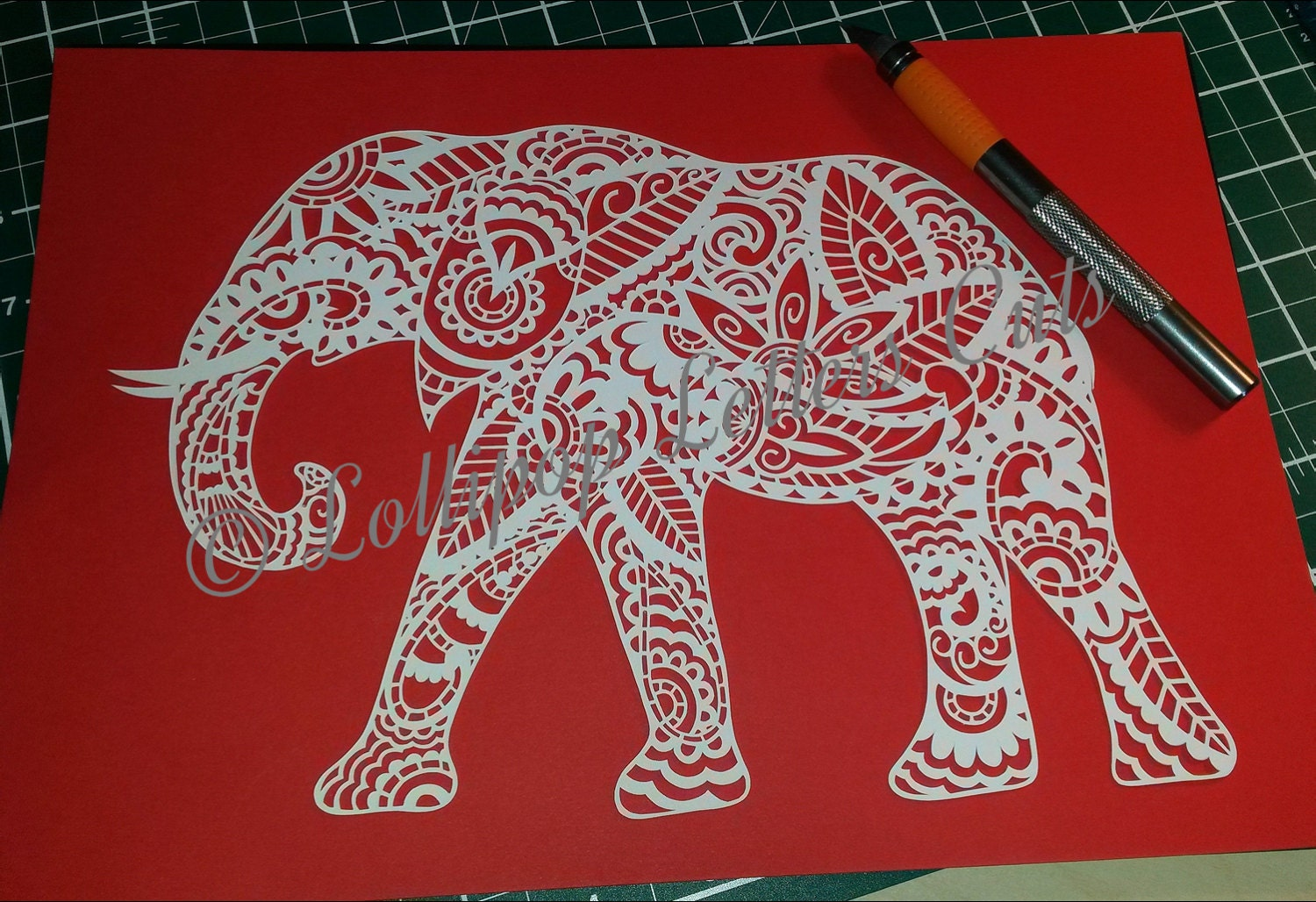 Paper Cutting Design Templates Diy Paper Cut Template