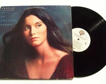 "Emmylou Harris – Profile / Best Of Emmylou Harris (1978) 12"" Vinyl LP 33 RPM Folk, World, Country"