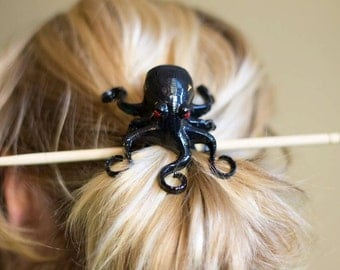 3D printed Octopus Hair Accessory