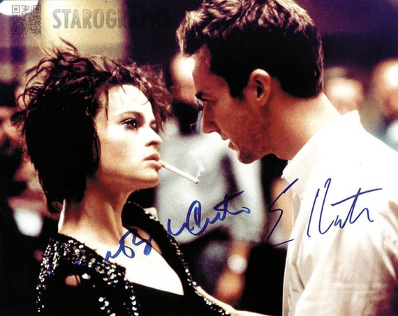 Items similar to Edward Norton &Helena Bonham Carter ...