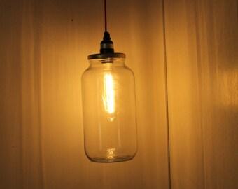 Gallon Glass Jar Hanging lamp