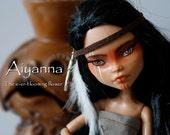 Reserved for newkali OOAK Monster High Repaint Art Doll - Aiyanna