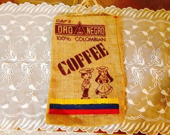Cafe Oro Negro Colombian Coffee Pouch