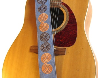 Guitar Strap. Hand-made of Jute. Eco-friendly and Ethical. Incredible Craftsmanship!