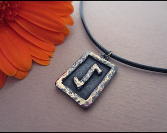 Eihwaz Rune Pendant - Protection