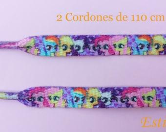 2-My Little Pony shoe laces