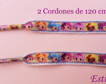 2 the Lalaloopsy shoe laces