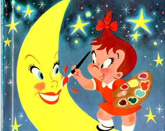 Little Audrey and the Moon Lady - Wonder Books c.1960