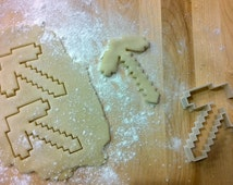 Game Inspired MC P-Axe Cookie Cutter