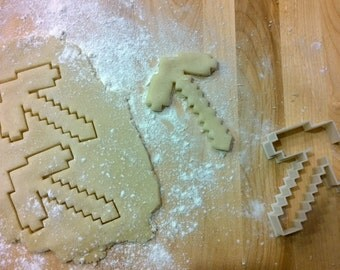 Minecraft Inspired MC P-Axe Cookie Cutter