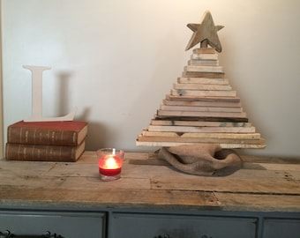 Christmas Tree, Christmas Decorations Wooden Tree, Mantle Piece, Fireplace, Christmas Decor, Rustic Decor, Pallet Wood, Reclaimed