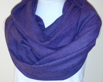 LAST ONE! Warm and Cozy Perfect Purple Scarf