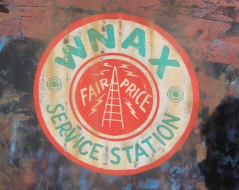 Custom 'vintage' sign painting