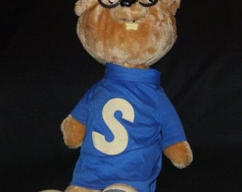 """Vintage Talking """"SIMON"""" from Alvin and the Chipmunks"""