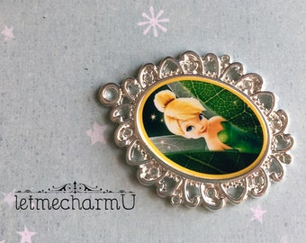 Tinkerbell Pendant - Tinkerbell Necklace - Peter Pan Pendant - Peter Pan Necklace - Tinkerbell Jewelry - Fairy Pendant - Fairy Necklace