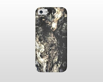 Woodgrain IPHONE SAMSUNG GALAXY phone case, wood knots tree bark nature photography print