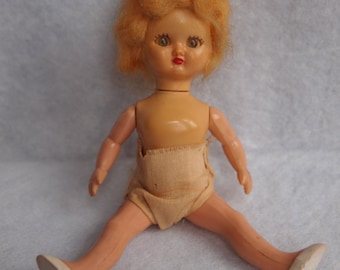 1950's Hollywood Doll with Moveable Eyes