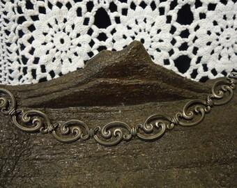 BEAUTIFUL Vintage Sterling Silver Bracelet 7''