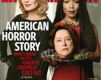 AMERICAN HORROR STORY   Entertainment Weekly collectors cover  no labels new condition
