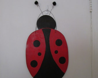 Cute lady bug for your wall or door.