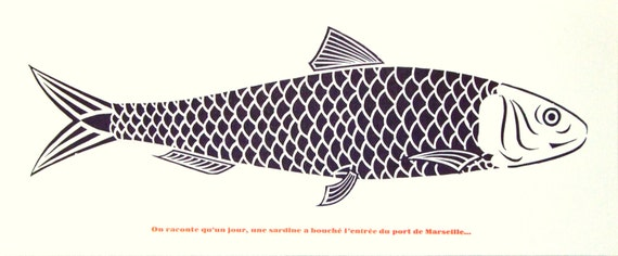 La sardine de marseille - Sardine port de marseille ...