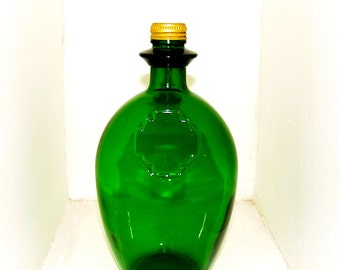 Vintage glass bottle from the 70s