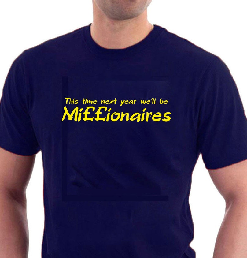 This time next year we 39 ll be millionaires only fools - Only fools and horses bonnet de douche ...