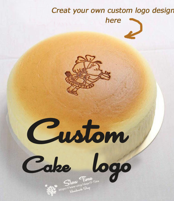 Personalized Custom Food Cake Logo Bread Wood