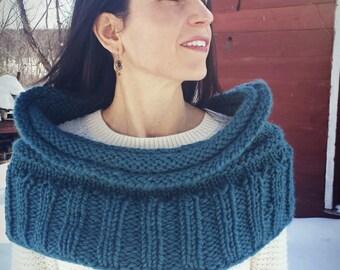 Knit shrug Womens knit shrugs, Jewel toned bulky infinity scarf and shrug