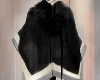 Roberto Cavalli FW14 02 Fine Art Print